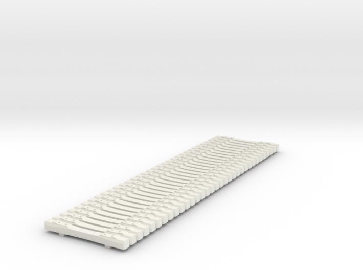 H0 Betonschwellen (Concrete Ties Load) B70 3d printed