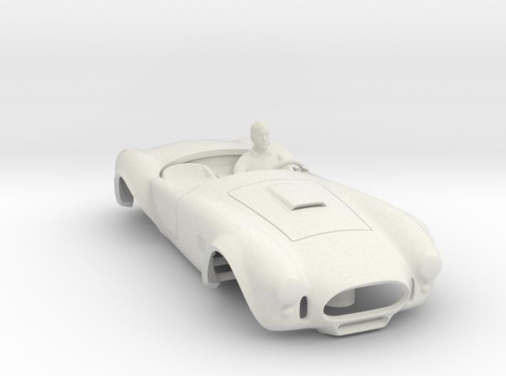 427 Cobra Body: Fits AFX MegaG 1.7 3d printed