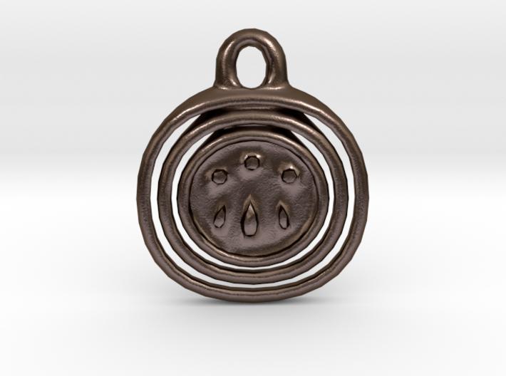 Awen Symbol Pendant 3d printed