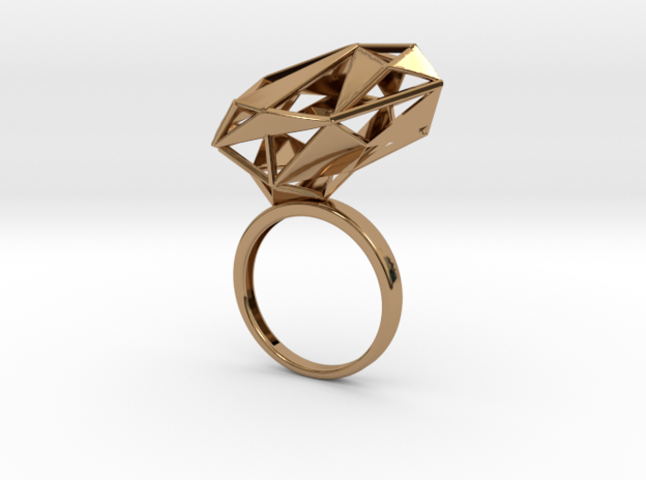 The Matrix Ring 3d printed