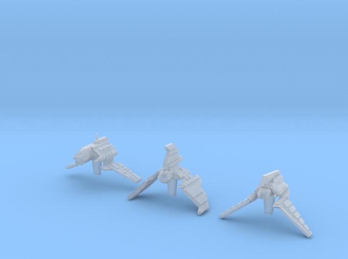 (Armada) Republic Shuttles Set I 3d printed