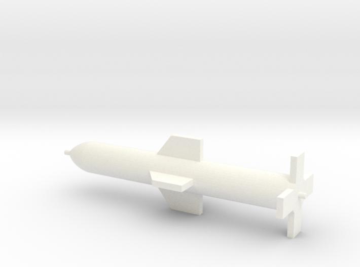 1/72 Scale GBU-57 Massive Ordnance Penetrator 3d printed