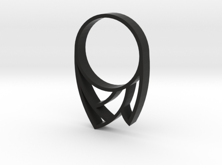 Punk Ring 3d printed