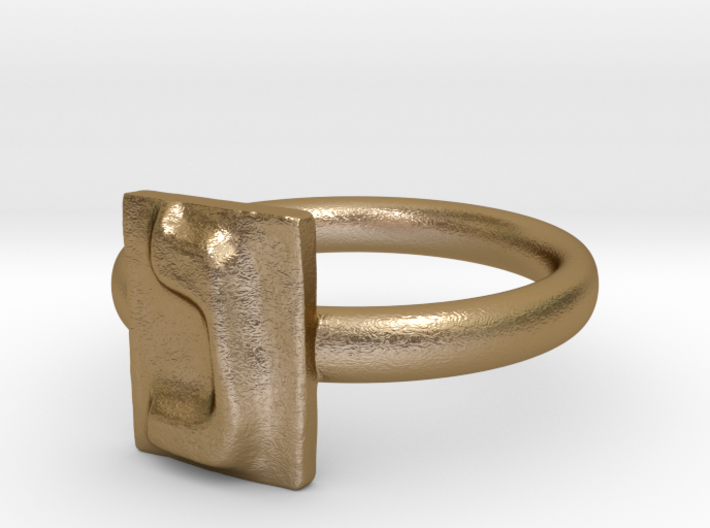 14 Nun Ring 3d printed