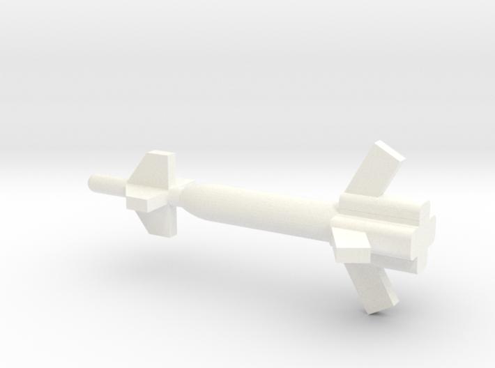 1/144 Scale GBU-27 Bomb 3d printed