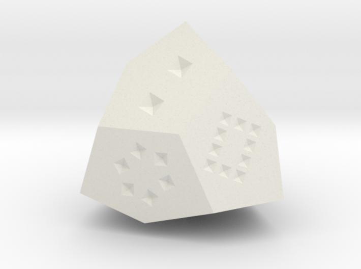 D12 crystal 3d printed