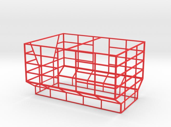 Ballenaufbau siku Anhänger 3d printed