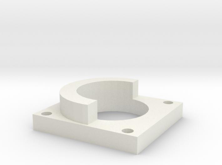 Dowel Holder Open Bracket 3d printed
