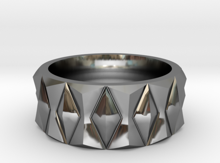 Diamond Ring V3 3d printed