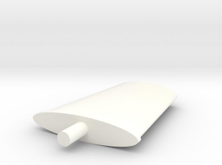 Seaking Fin Antenna 3d printed