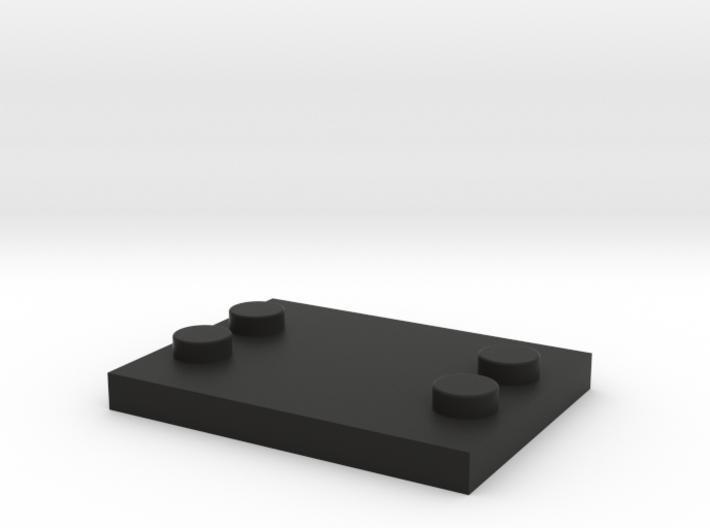 Lego - Minifig Base - Astromech 3d printed