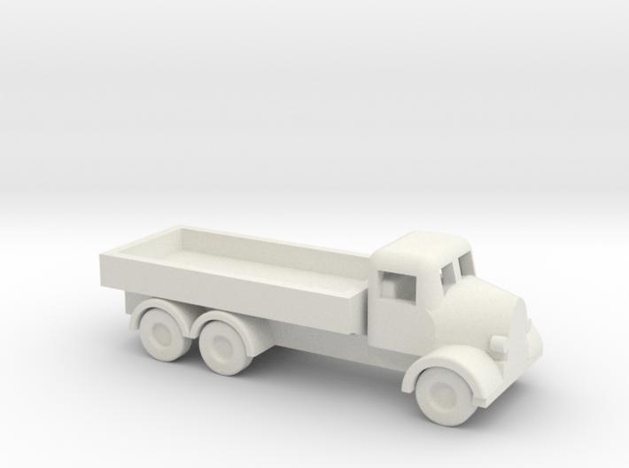 1/144 Scale Austin K6 Cargo Truck 3d printed