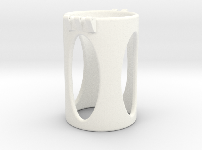 Ccage-shaft-oval 44-75 3d printed