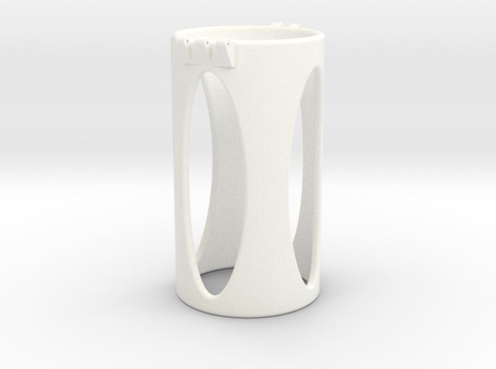 Ccage-shaft-oval 49-100 3d printed
