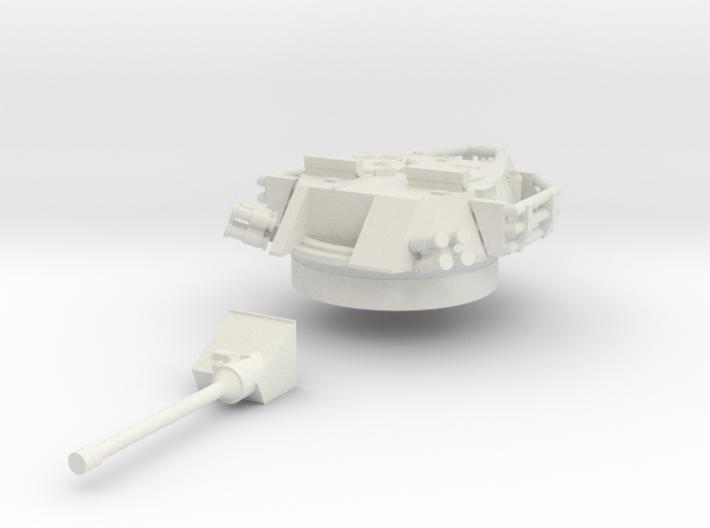 ASLAV-25 TYPE 1 Turret(1:56 Scale) 3d printed