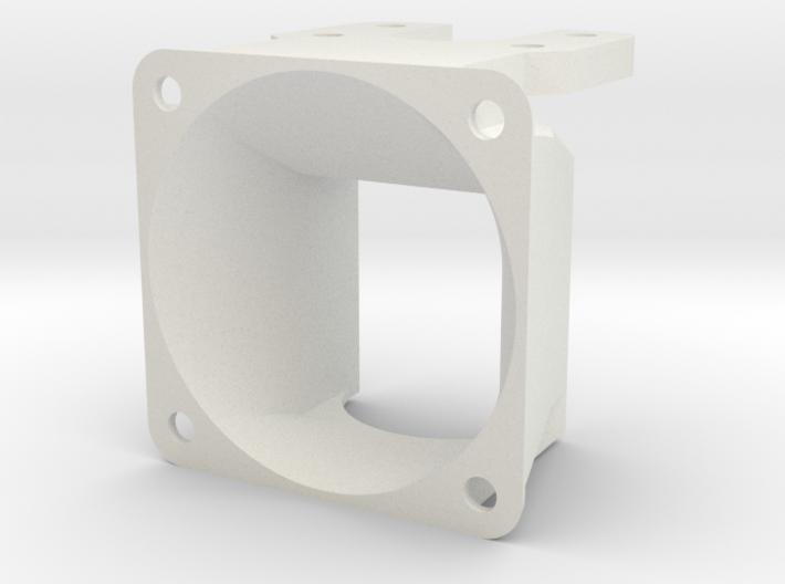 40mm fan shroud For E3D Lite6 / Kossel 3d printed