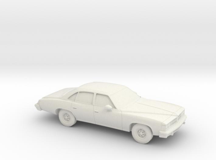 1/64 1976 Pontiac Grand LeMans Sedan 3d printed