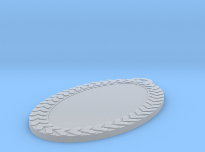 Oval Pendant 30 Mm 3d printed