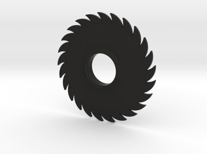 Hand Spinner Saw Blade 3d printed