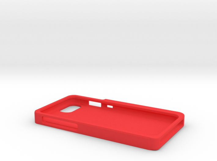 iPhone 7 case with headphone connector holder 3d printed