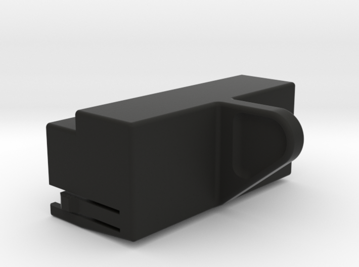 SX-64 Keyboard Connector Dust Cover 3d printed