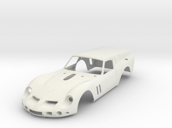 Ferrari 250 swb Breadvan - Kit 01 Scale 1/8 3d printed