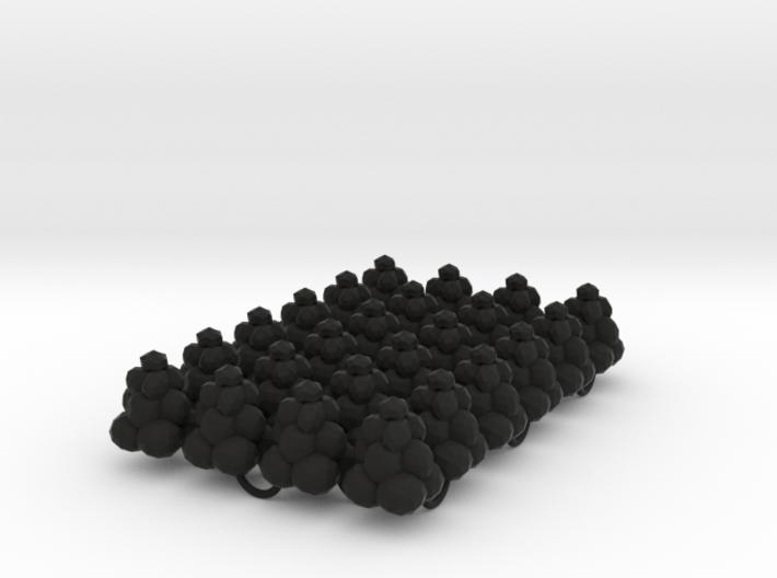 Power Grid Coal Piles - Set of 24 3d printed