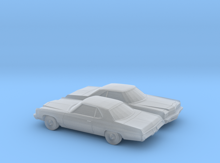 1/160 2X 1973 Chevrolet Impala Sport Coupe 3d printed