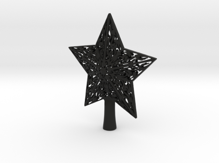 Star christmas 3d printed