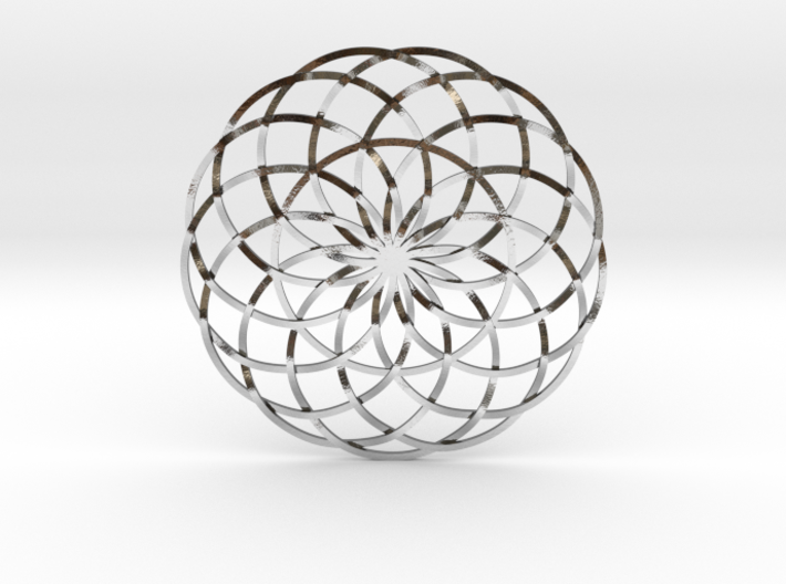 Moon Flower 3d printed