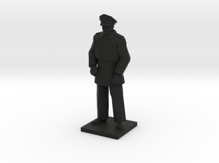 Police Standing (Winter in Gotham), 1/64 3d printed