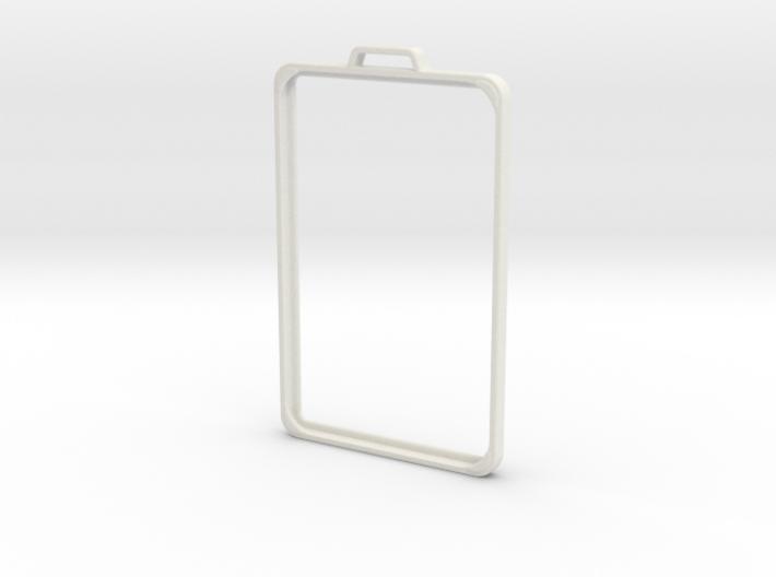 SimpleBadge 3d printed