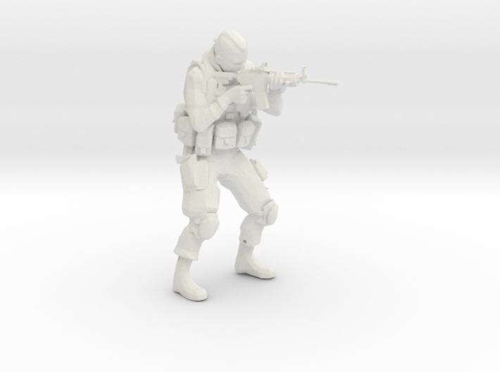 Modern Soldier Shooting Esc: 1/24 3d printed