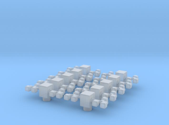 Lichtmast eingefahren - Version #3 - 10st 3d printed
