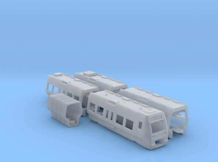 DSB Litra SA N part1 [4x body + details] 3d printed
