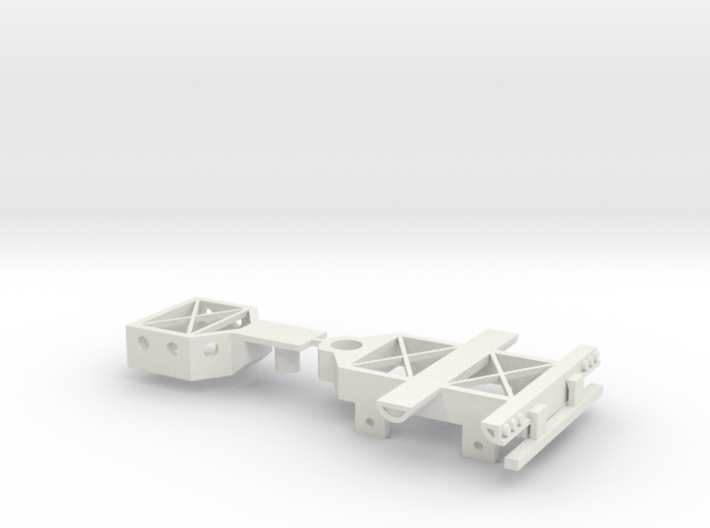Booster Dolly Only; 2-Axle 3d printed