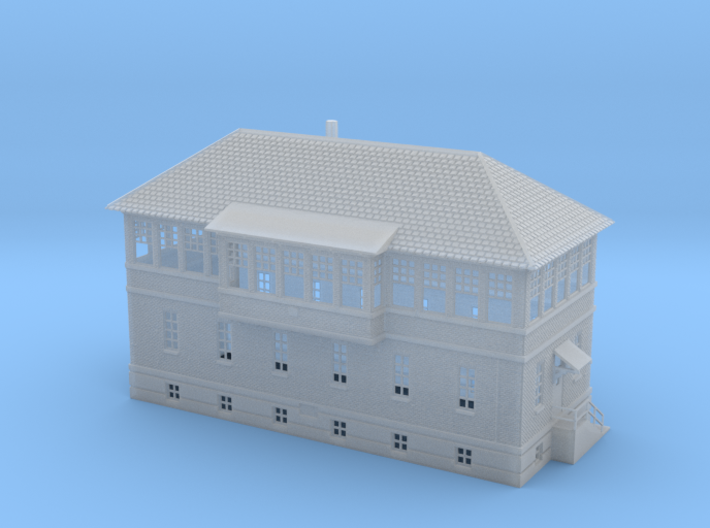 ZOO TOWER 160 Brick Union N scale 3d printed