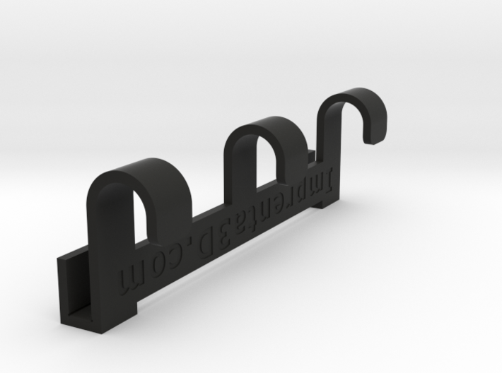 Gym-locker hanger 3d printed