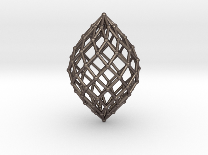 0579 Polar Zonohedron V&E [10] #002 3d printed