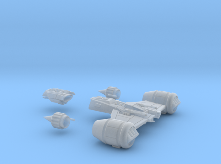 SWTOR inspired Republic Gunship 1/270 3d printed