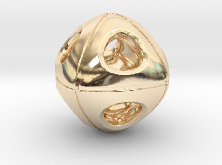 Cuboidish Necklace 3d printed