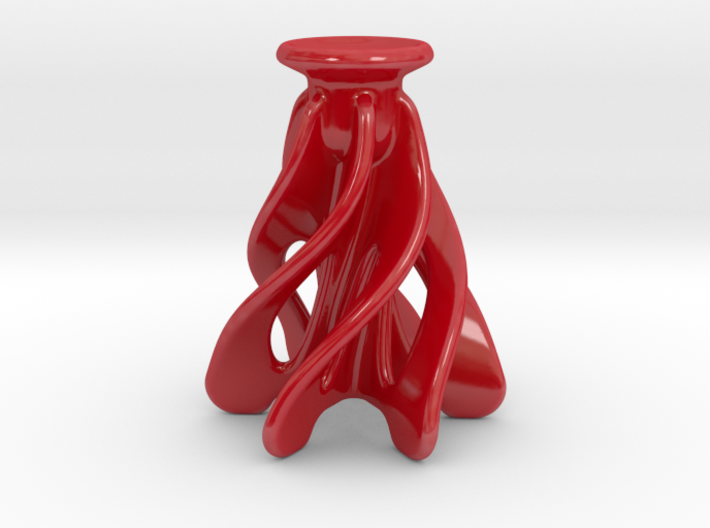 Christmas Candle Holder 3d printed
