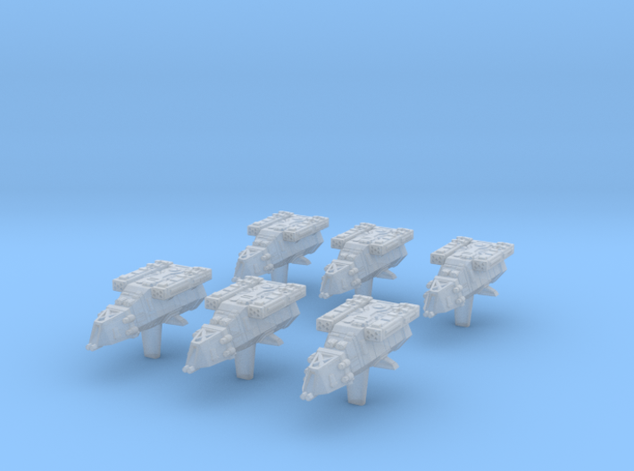 (Armada) 6x DX-9 Stormtrooper Transport 3d printed