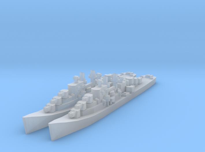 Atlanta class cruiser 3d printed