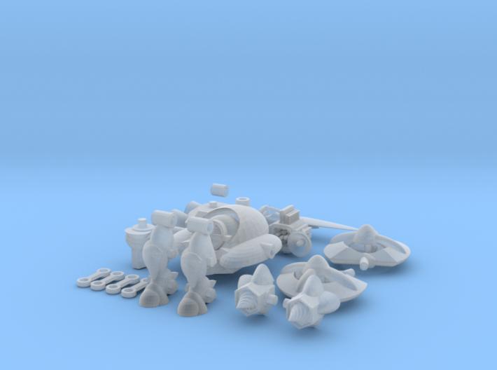 MOD BOT ( STARTER BOT ) 3d printed