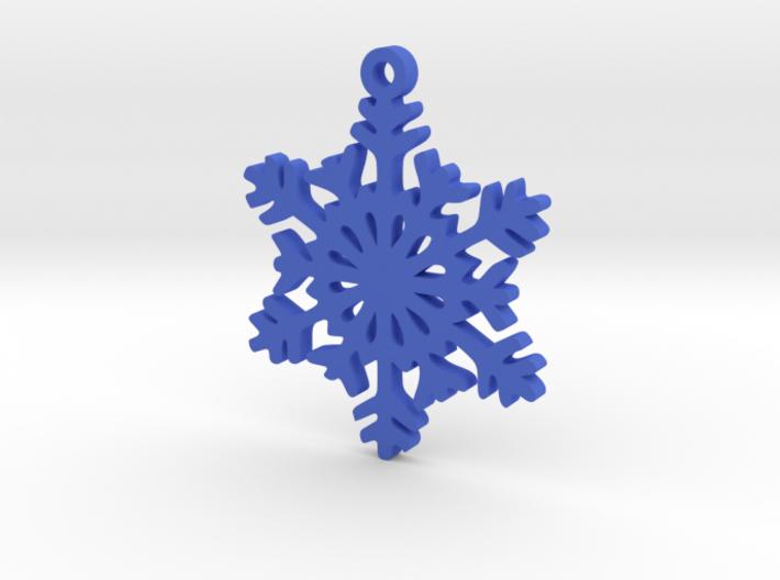 Snow Crystal Earring 3d printed