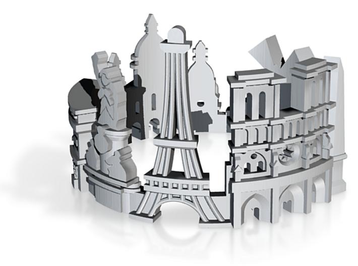 Ring Paris US7,5 3d printed