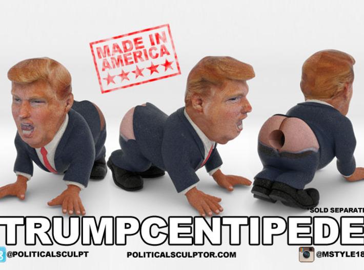 TrumpCentipede Small - The Trump Human Centipede 3d printed