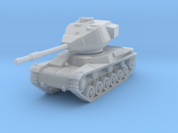 MV13D Stridsvagn 74 (1/144) 3d printed