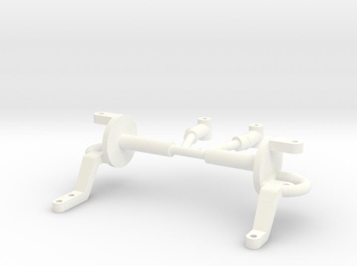 Spindles & hangers drop axle 1/8 3d printed